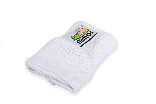 Kissenbezug für Mimos-Babykopfkissen in Gr. S - weiß
