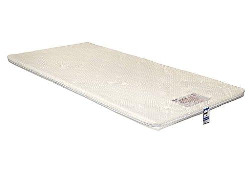 Latex Plus By Yanis 5cm Dunlop Latex Matratzenauflage, Latex, weiß, King Size 150x200cm -