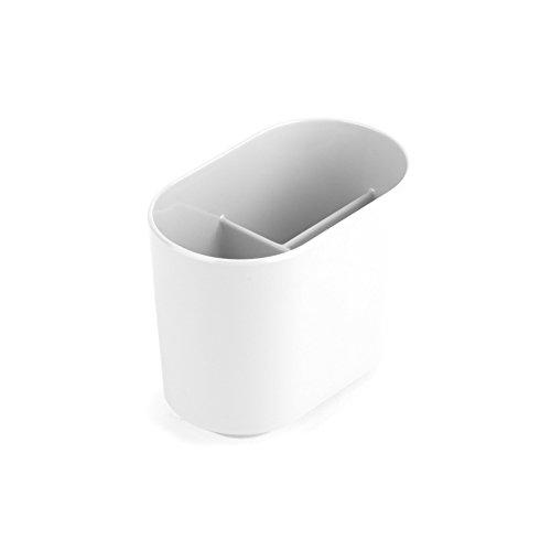 Umbra 023836-660 step porta spazzolino, bianco