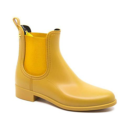 Lemon Jelly Splash 09 Rusted Gold Rain Boots