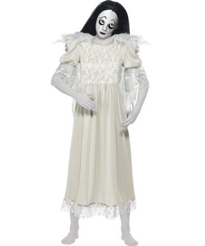 Original Lizenz Living Dead Dolls Puppe für Damen Dämon Puppenkostüm Halloween Damenkostüm Halloweenkostüm Horror Grusel Gr. 34 (XS), 36/38 (S), 40/42 (M), (Living Dead Kostüm)