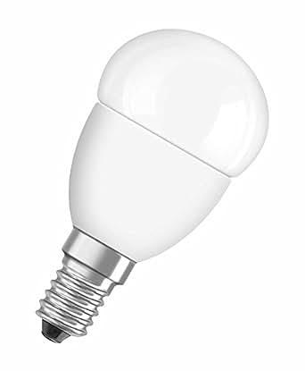 OSRAM LED SUPERSTAR Ampoule LED, Forme sphérique, Culot E14, Dimmable, 3,2W Equivalent 25W, 220-240V, dépolie, Blanc Chaud 2700K, Lot de 1 pièce