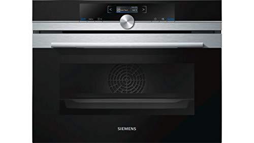Siemens iQ700 CB674GBS3 - Horno (Medio, Horno eléctrico, 47 L, 47 L,...