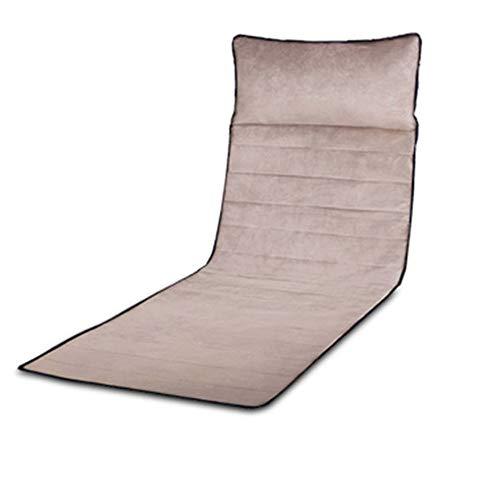 Massage-Matratze-Körpermassagegerät, 9-Motor-Massagematte mit Wärme für beruhigende Körperentlastung, Massagen im oberen und unteren Rückenbereich der Hüften Lendenbereich und Beine