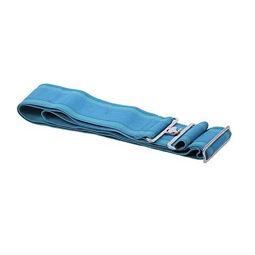netproshop Pferd Zubehör Deckengurt für Pferdedecken Elastisch und Verstellbar, Farbe:Hellblau