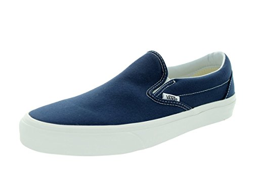 Vans U Classic Slip-on Overwashed, Unisex-Erwachsene Sneakers Dress Blue/White Checker