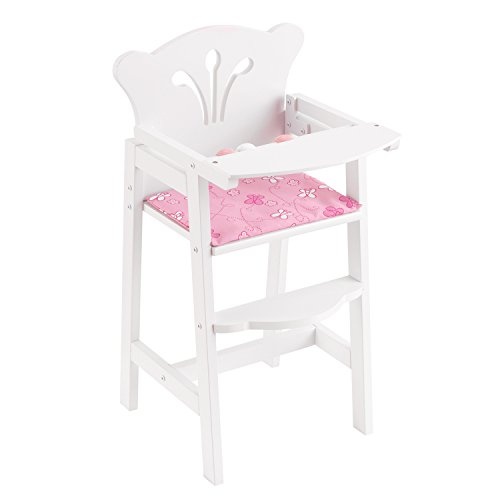 KidKraft Doll Furniture wooden Lil' Doll High Chair 317oiU  v3L
