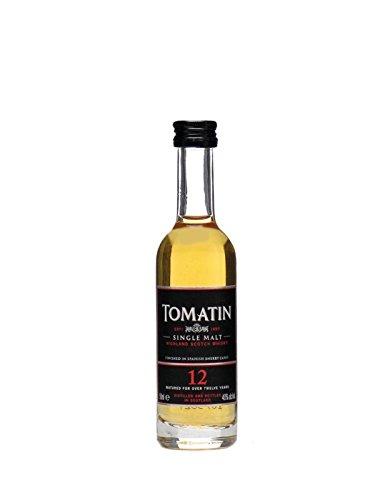 Tomatin 12 Jahre Single Malt Whisky Miniatur 5 cl
