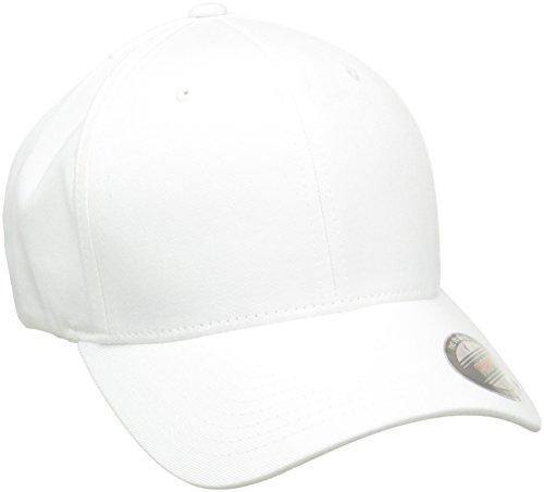 Flexfit Erwachsene Mütze Wooly Combed, Weiß , L/XL, 6277