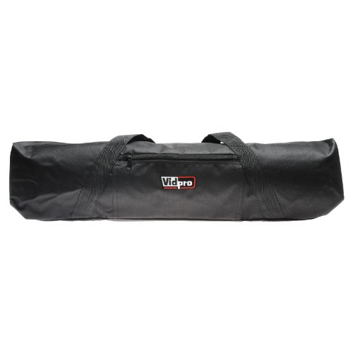 VidPro TC-22 Padded Tripod Bag carries 22-inch Long Tripods