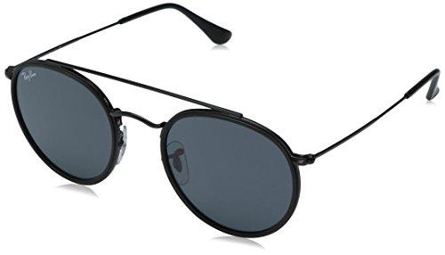 Ray-ban rb 3647n occhiali da sole, nero (black), 51 mm unisex-adulto