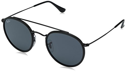 Ray-Ban Unisex-Erwachsene Sonnenbrille Rb 3647n Black/Grey, 51