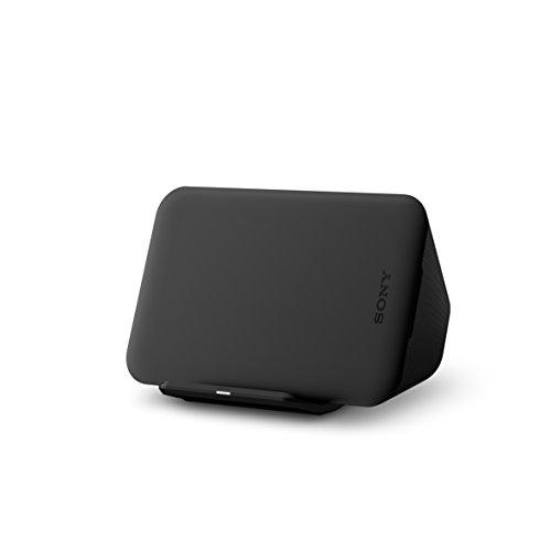 Sony induktives Ladegerät WCH20 zum kabellosen Laden im Hoch- oder Querformat schwarz (Sony Schnell-ladegerät)