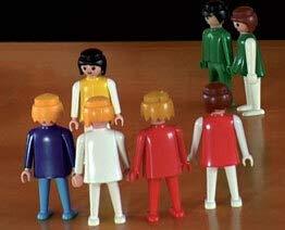 Aufstellungsfiguren * Playmobilset * 40 Figuren * - Systeme Aufstellung