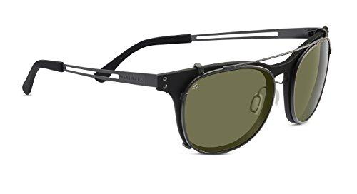 Serengeti Eyewear Sonnenbrille Enzo, Satin Black, L, 8060