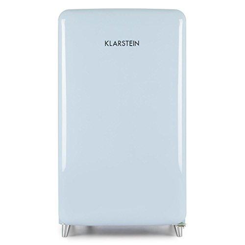 Klarstein PopArt Blau Retro-Kühlschrank mit Gefrierfach kompakte Fifties-Style Gefrier-Kombi - 3