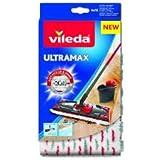 Vileda 4023103201262 Ultra Max Recharge 2en1 Microfibre Polyester Blanc et Rouge 46 x 14.1 x 1.5 cm