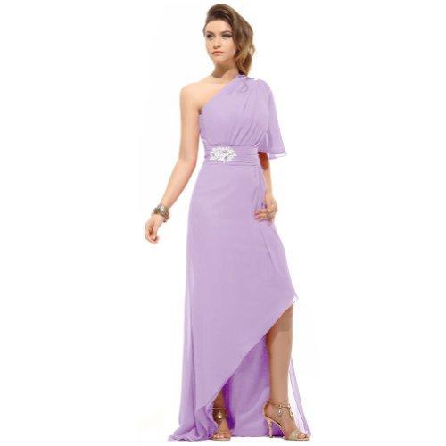 Lemandy - Robe - Uni - Femme multicolore Multicoloured Prune