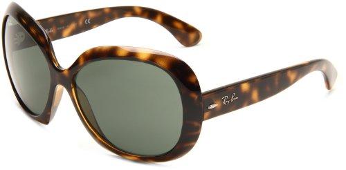 Ray-Ban Unisex Sonnenbrille Rb 4098, Braun (Gestell: Havana, Gläser: Grün Klassisch 710/71), X-Large (Herstellergröße: 60)