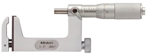 Mitutoyo 117–108interchangeables enclume Micromètre, gamme 2,5- 5,1cm