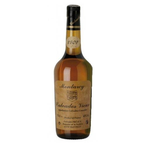 MONTARCY Calvados Vieux AOC VSOP 40%vol., 0,7