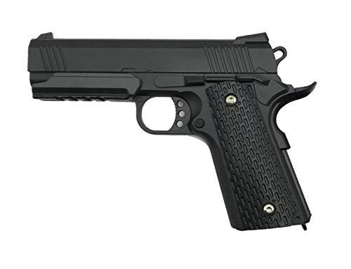 Rayline G25 Full Metal Airsoft (presión de Resorte Manual), Escala 1: 1, Peso 570 g, Calibre 6 mm, Color: Negro/Negro