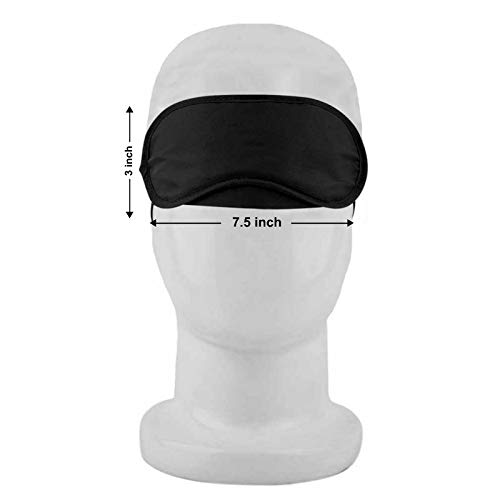 Paper Plane Design His Her Matching Sleeping Eyemask Cover - Breathable Eye Patch with Complete Light Blocking -7.5 x 3 in- by Paper Plane Design