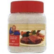 Antony Worrall Thomp Beef Gravy Powder Jar 170 g (order 6 for retail outer)
