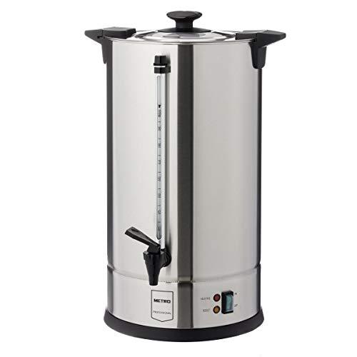 METRO Professional Kaffeemaschine GCM4015 | 15 Liter | 100 Tassen | 1650 W | Ohne Papierfilter | Warmhaltefunktion | Überhitzungsschutz | Kühle Außenwand | Füllstandsanzeige | gewerblicher Einsatz