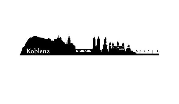 Wandtattoo Xxl Skyline Koblenz Deutsches Eck Stadt Wand Aufkleber