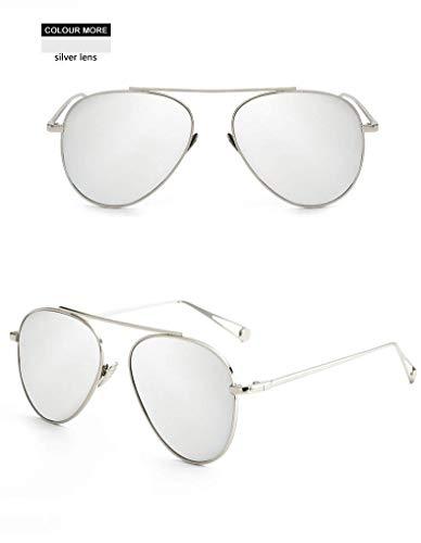 Wghz Ultraleichte Augenschutz Shade Vintage Aviator Sonnenbrille Damen Pink Mirror Sonnenbrille Ladies Female Eyewear