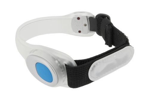 Runtastic Safety Reflector Sport Armband (LED) Weiß/Schwarz