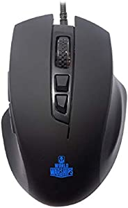 Ant Esports GM200W Gaming Mouse Wired, 6 Programmable Buttons, 3200 DPI Adjustable, with 7 Breathing Lights, C