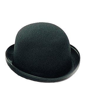 Chapeau melon, noir