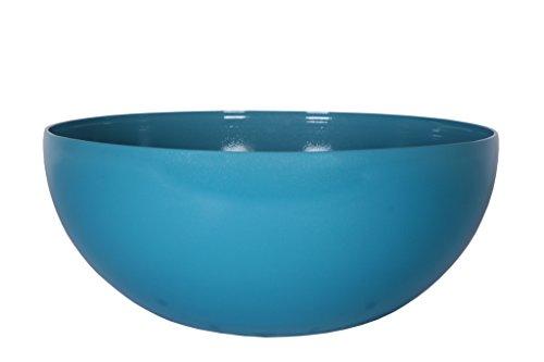 Art en Vogue Pot de fleurs, Coupe de fleurs Roto, Finition brillante, Bleu, 50x22cm
