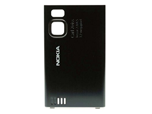 Nokia 6500 Slide Akkudeckel black (6500 Nokia Slide)