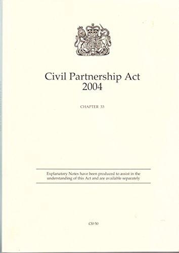 Civil Partnership Act 2004 Chapter 33