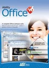 ASI Ability Office V6 - Latest 2014 Edition Microsoft Windows 7 & 8 Compatible
