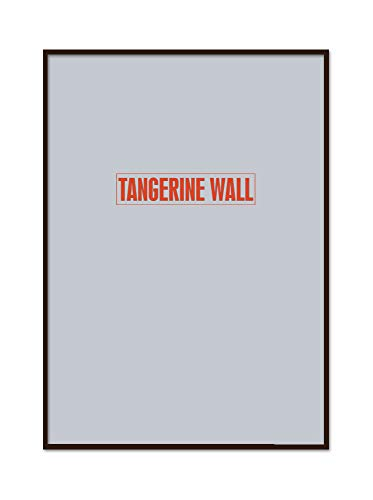 Tangerine Wall Marco Fino Madera auténtica 50x70