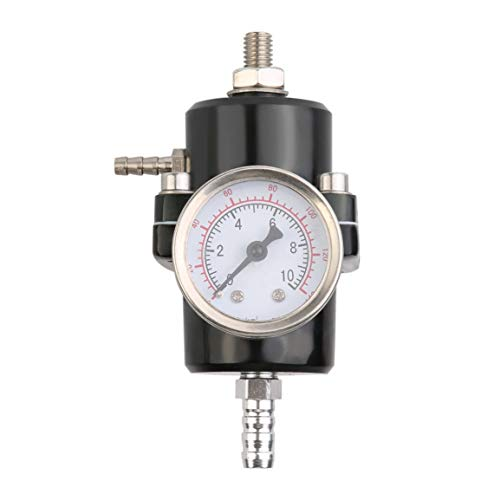 Universal-Kraftstoffdruckregler mit 0-140 Psi Einstellbare Messschlauch Kit Professionelle Öldruckregler
