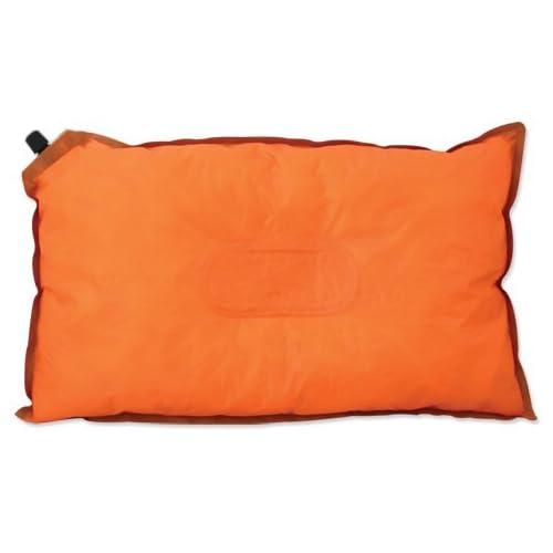 Milestone Camping 85850 Self Inflating Pillow, Orange, W50xD30xH8cm