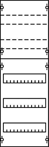 Preisvergleich Produktbild Striebel 1V1KA Verteilerfeld