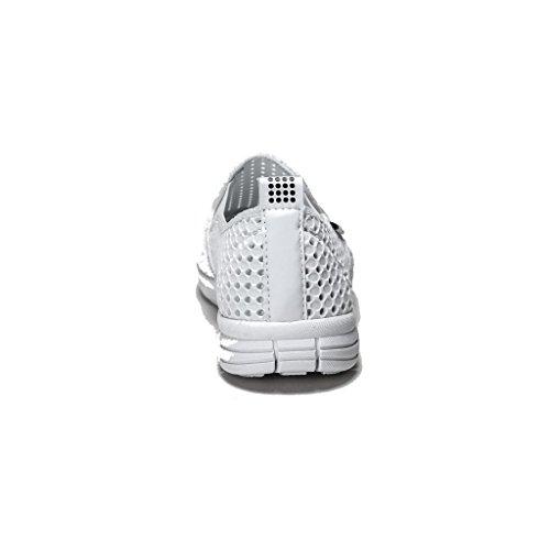 HOLEES originale in gommapiuma a memoria di forma, leggera, da donna, antiscivolo, per scarpe da uomo, in vari colori e misure disponibili Bianco