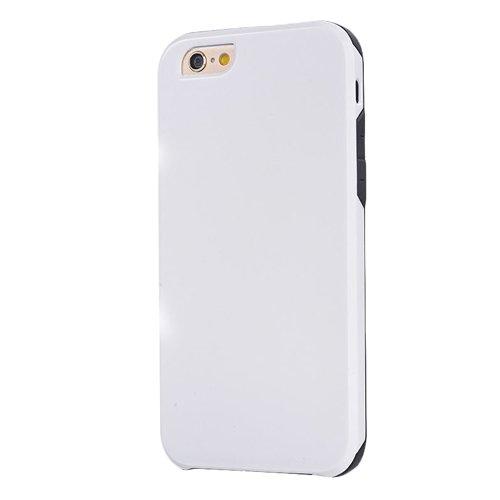 """F8Q Prestige Metal Case caoutchouc Armure haut de gamme antichoc Housse de protection pour iPhone 6 Plus 5.5 """" blanc"""