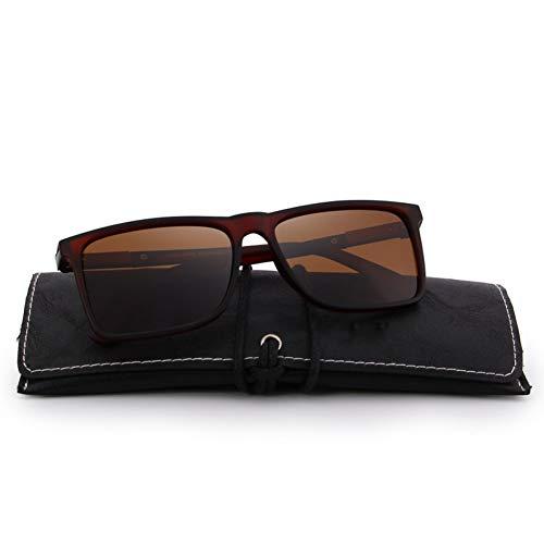 CCGSDJ Herren Polarized Rectangle Sunglasses Protection