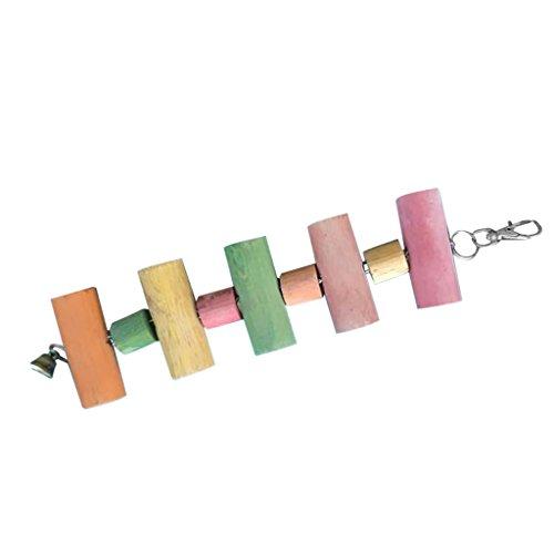 petsola Sichere Hölzerne Kauenspielzeug Zähne, Die Reiniger Für Chinchilla Eichhörnchen Papageien Vogel Reiben - 3#