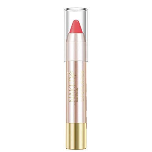 Cwemimifa Super Stay Matte Ink Un-Nudes Lippenstift, Süße rote Tube Mund roter Backstein rote Tante Lippenstift ist Nicht einfach, süßer Samt, Rot (Einfache Halloween Make-up Mund)