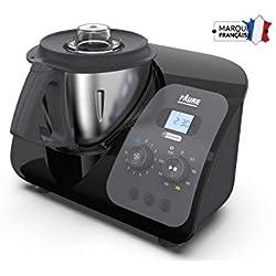 Faure FKC-3L1D1 Magic Air Cooking Robot cuiseur connecté multifonction, 3.3 liters, Noir