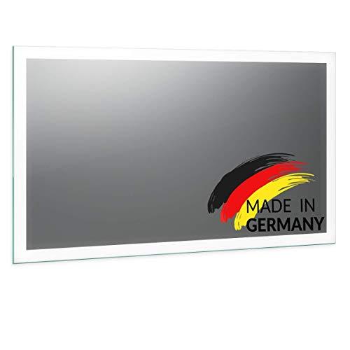 Spiegel ID Noemi21 rundum Design: LED BADSPIEGEL mit Beleuchtung - Made in Germany - individuell nach Maß - Auswahl: (Breite) 80cm x (Höhe) 60cm