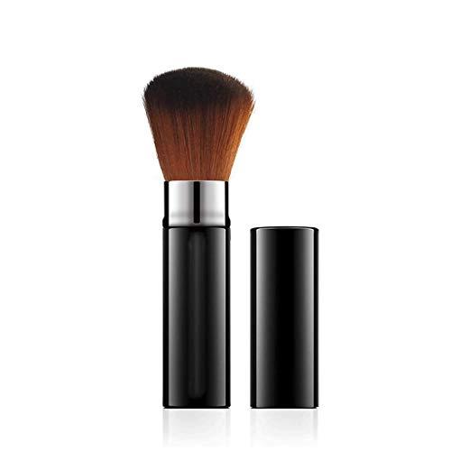 Make-up Pinsel Tragbare Teleskop erröten/mit Abdeckung lose Pulver/Faser Weichen Haarbürste/Honig Pulver/hohe Licht Reparatur Kapazität Pinsel (11,3 * 3,3 cm) (Kapazität Hohe Licht)